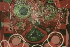 o.t.(nr.02) 2016, öl auf graukarton, 70x100 cm